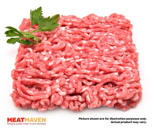 Beef Ribeye Minced - Raw sample