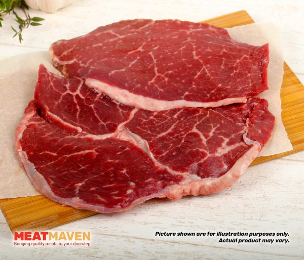 Beef Ribeye Prime Sliced - Raw sample