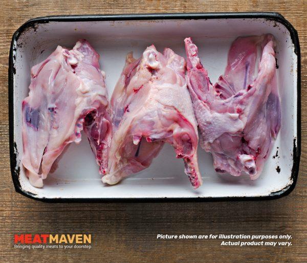 Chicken Body Bones - Raw sample