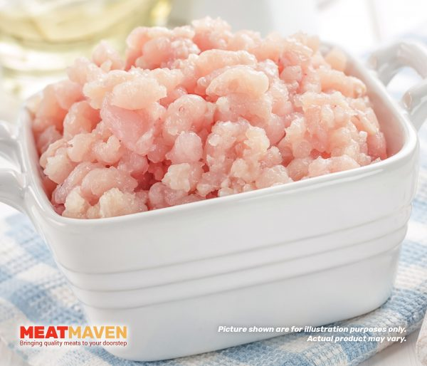 Chicken Breast Minced - Raw sample