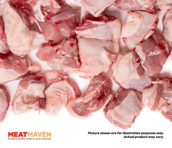 Chicken Curry Cut - Raw sample