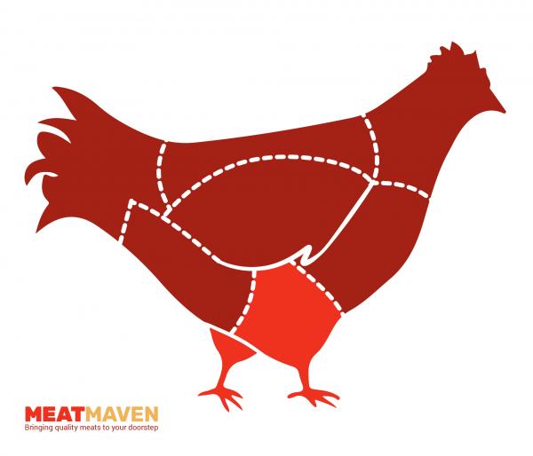 Chicken Diagram - Drumsticks