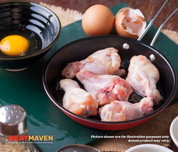 Chicken Drumettes - Raw sample