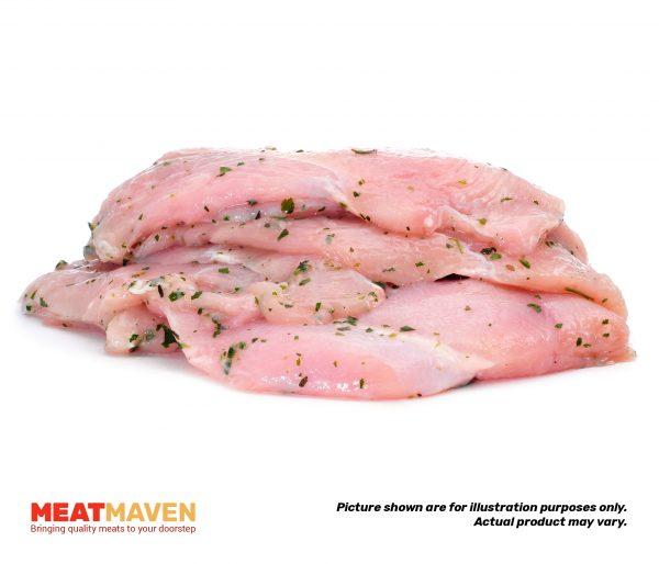 Chicken Leg Sliced - Raw sample