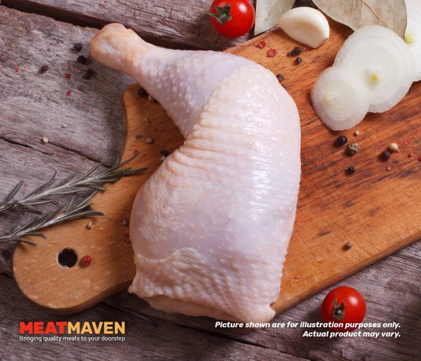 Chicken Leg - Raw sample