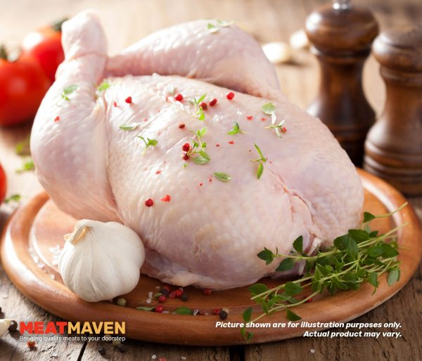 Chicken Whole - Raw sample