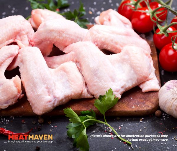 Chicken Wings Whole - Raw sample