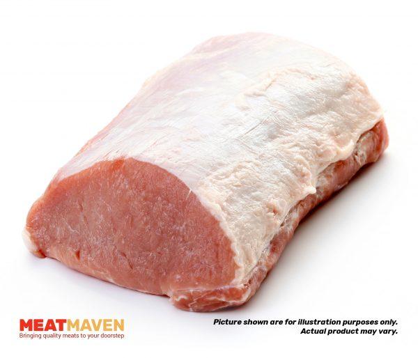 Pork Boneless Loin Whole - Raw sample