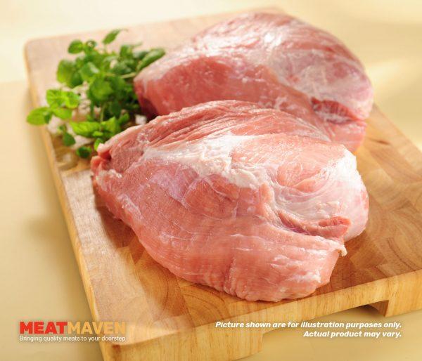 Pork Boneless Shoulder Whole - Raw sample