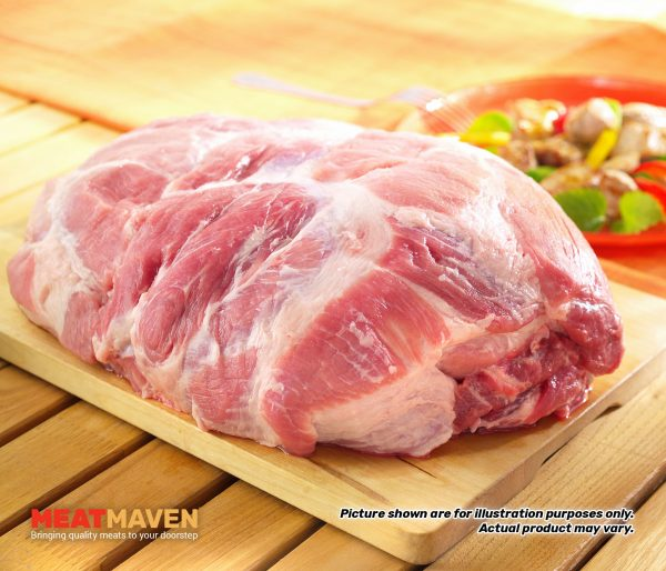 Pork Collar Whole - Raw sample