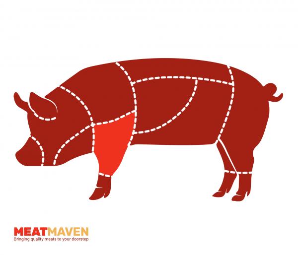Pork Diagram - Knuckle