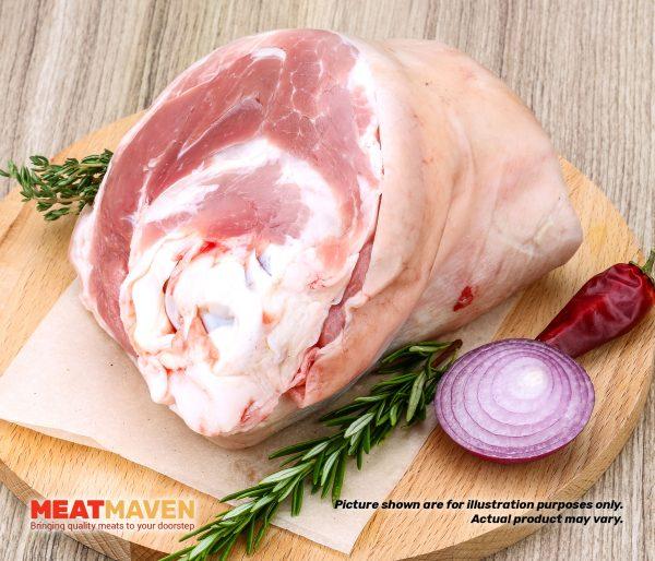 Pork Knuckle Whole - Raw sample