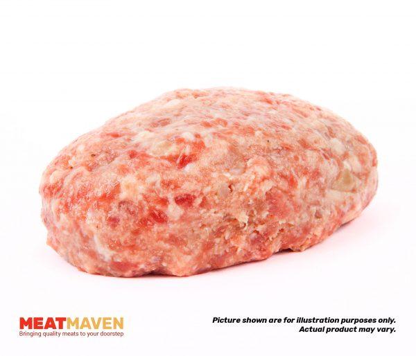 Pork Minced - Raw sample