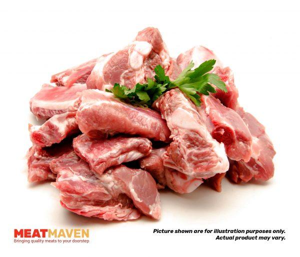 Pork Soft Bone - Raw sample