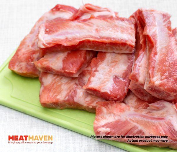 Pork Spareribs - Raw sample
