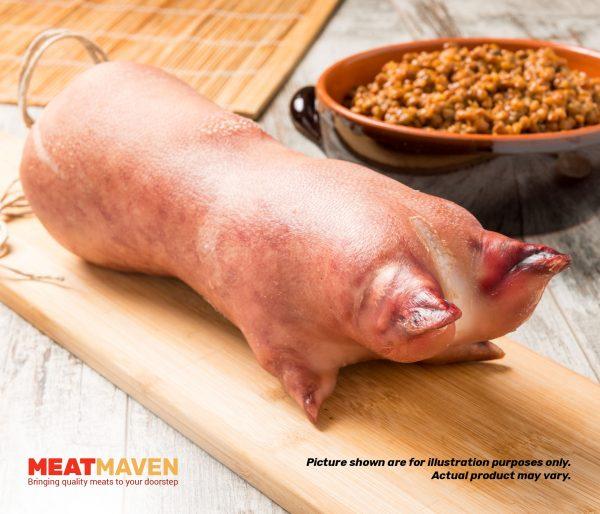 Pork Trotter - Raw sample